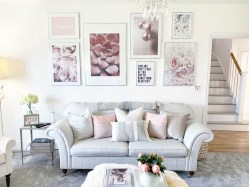 gallery wall ROOM TOUR: New living room design featuring Desenio