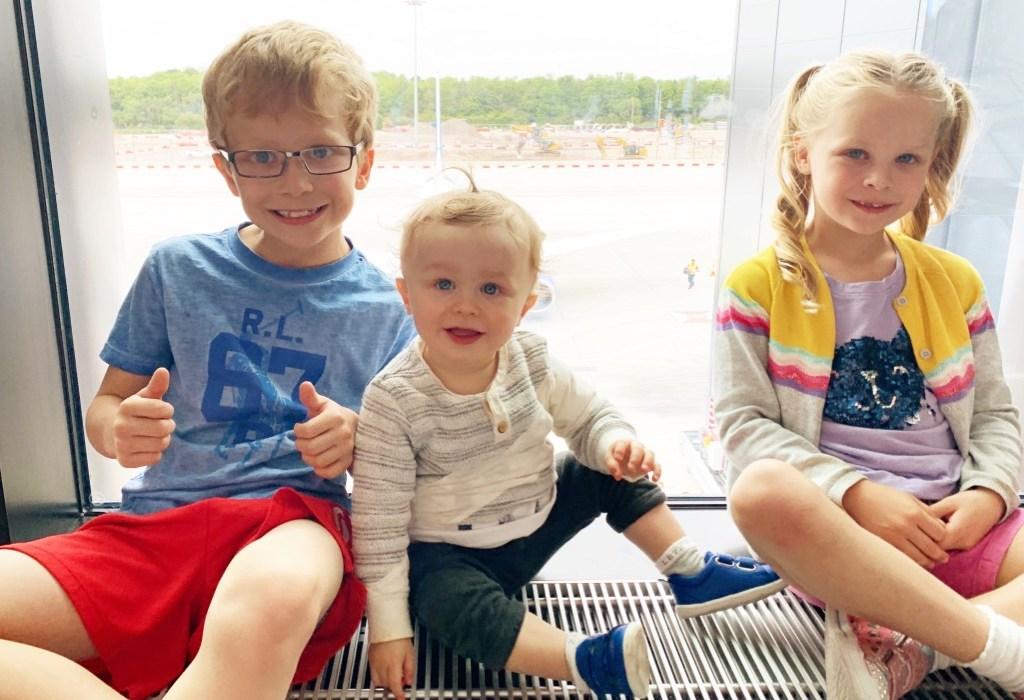 Three Siblings in June