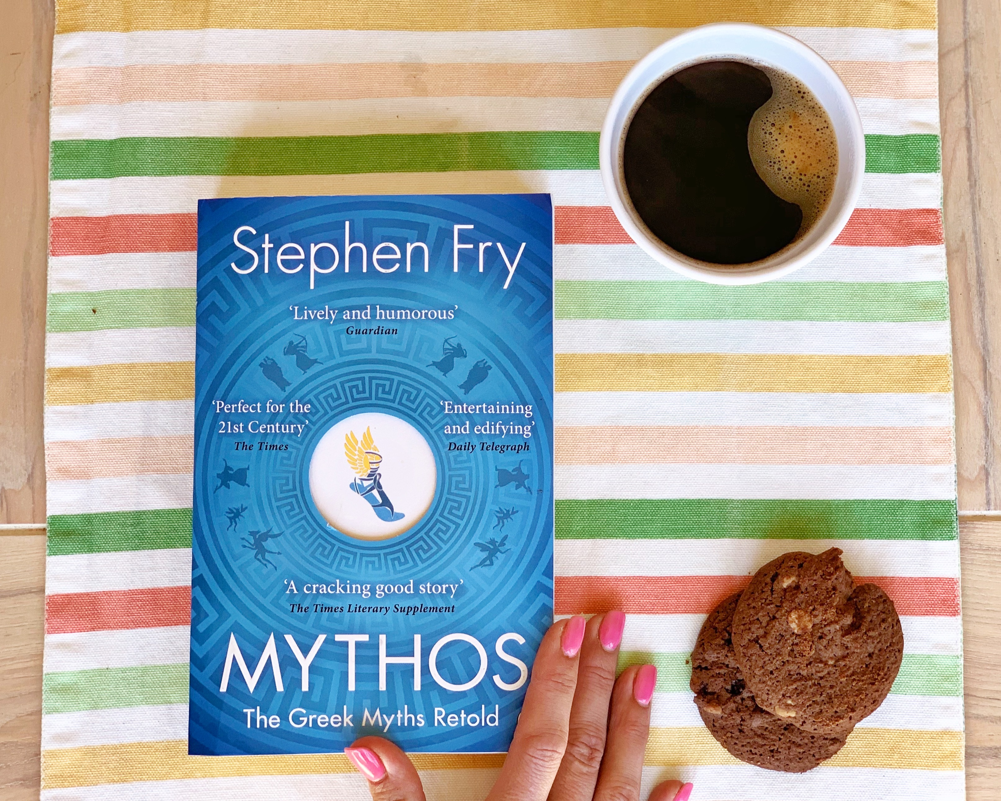 Stephen Fry Mythos reading books