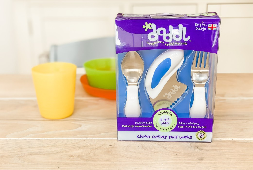 Baby O's first cutlery set for toddlers