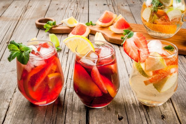 Sangria Cocktail Spain