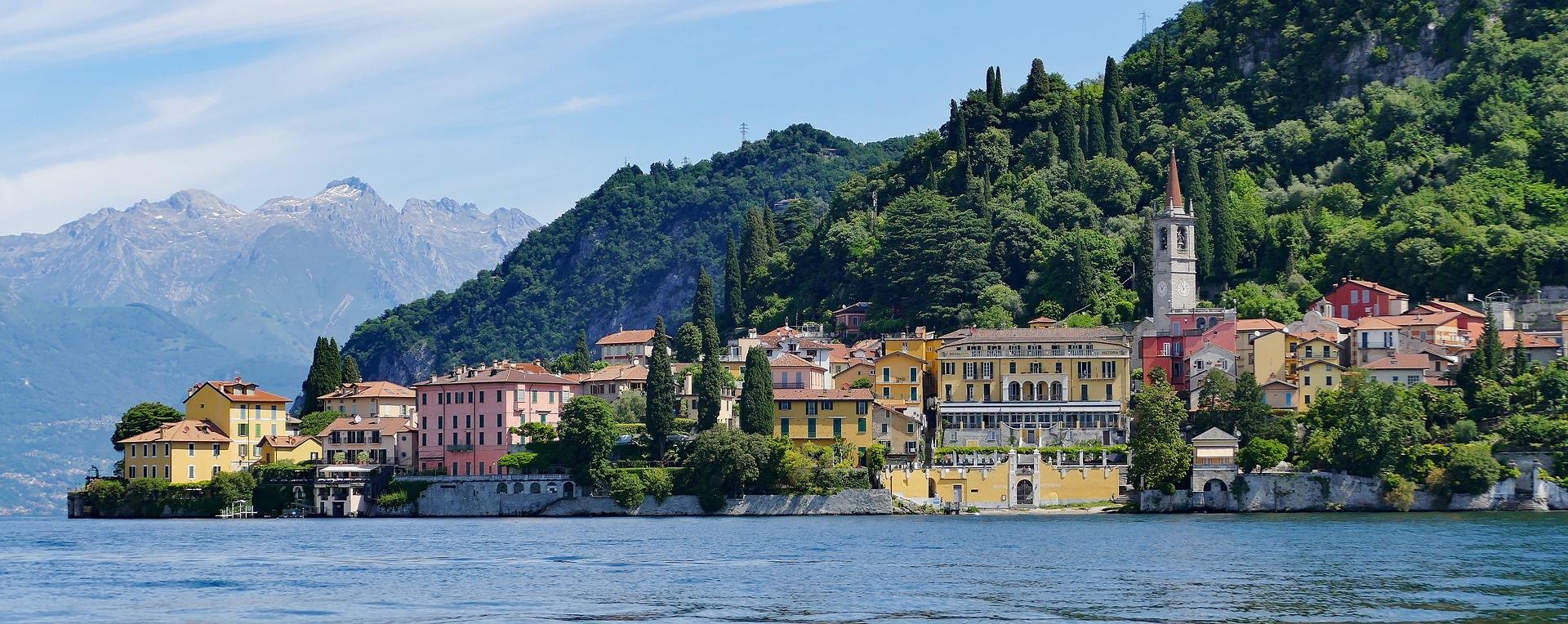 Lake Como, Italy honeymoon road trips in europe