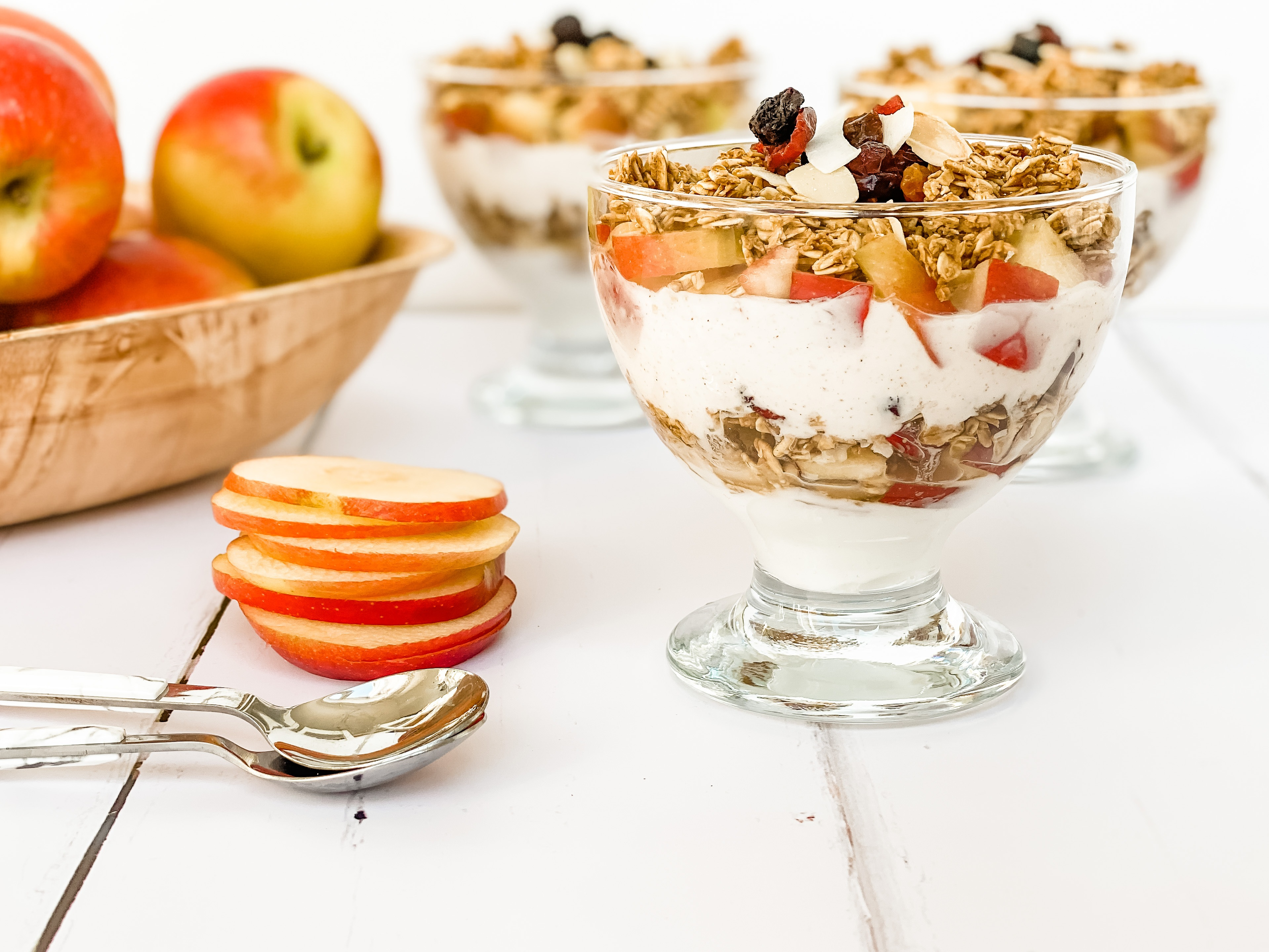 FREE downloadable recipe book JAZZ Apple UK recipes Apple Parfaits