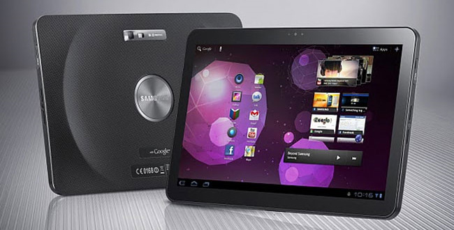 Second generation Galaxy Tab