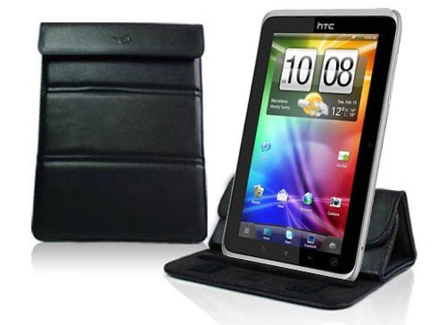 HTC Flyer Leather Case and Stand