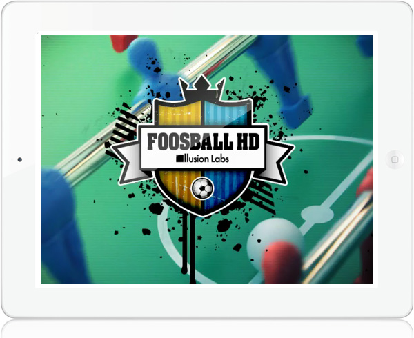 Foosball HD game for iPad