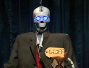 iPad humor build your own robot skeleton sidekick