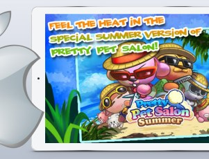 Pretty Pet Salon Summer iPad game