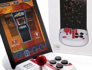 Atari Arcade-Duo powered joystick for iPad
