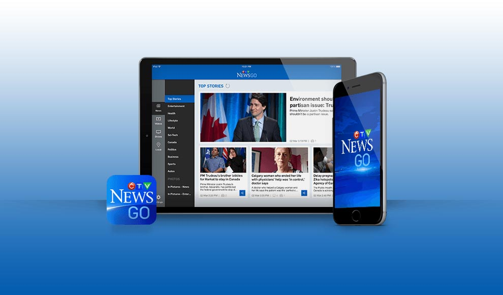 CTV News mobile app for iPad