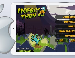 Infect Them All HD iPad game