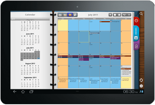 Pocket Informant app for Android