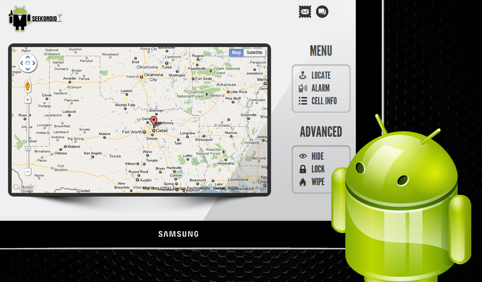 SeekDroid security app for Android