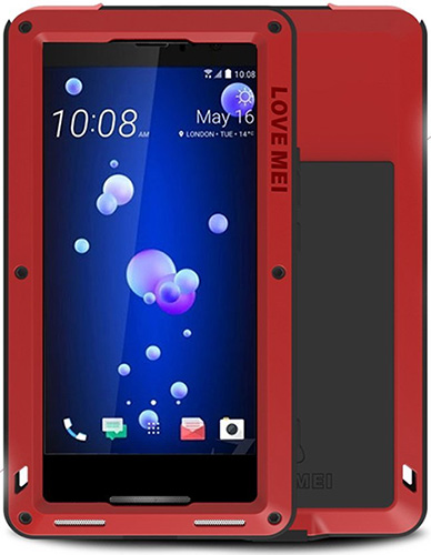 Mangix Love Shockproof Metal HTC U11 Case