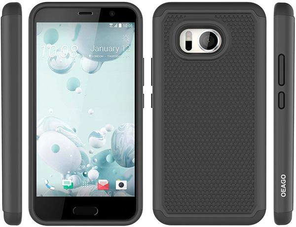 OEAGO HTC U11 Shockproof Case