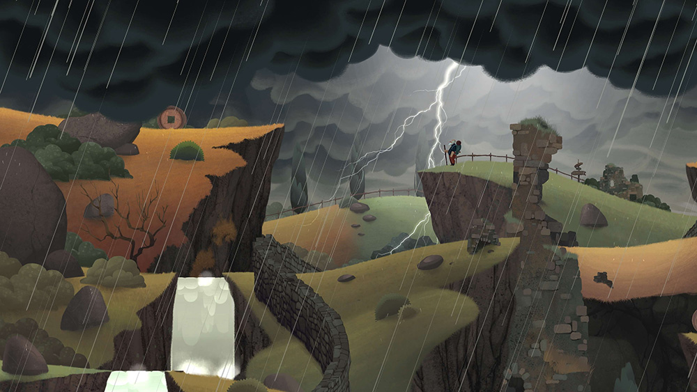 Old Man's Journey in game screenshot
