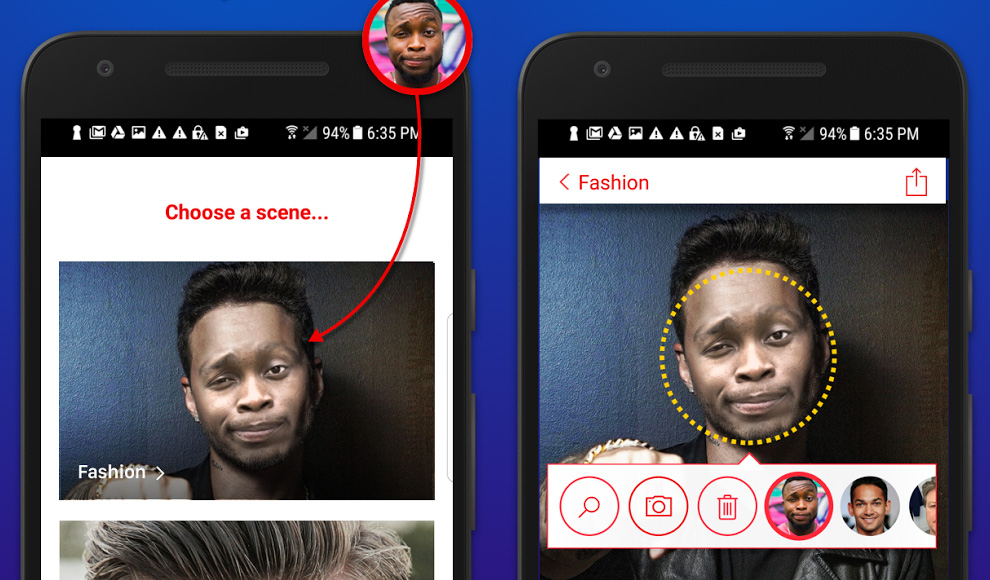 Pop Yourself Into Trending Scenes With New Face Swap Android App
