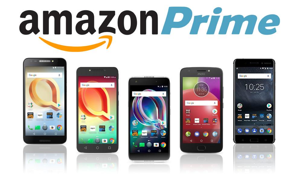 new Amazon Prime exclusive smartphone deals