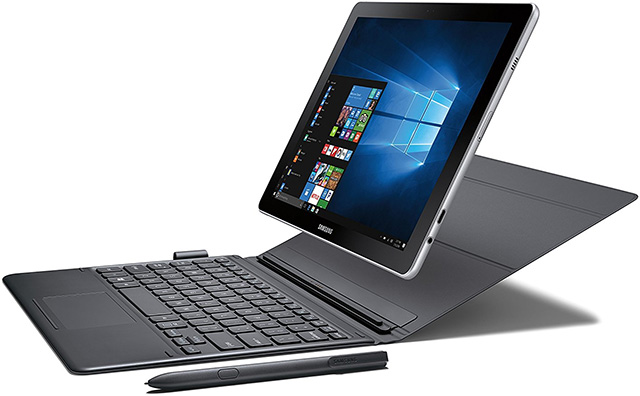 10-inch Samsung Galaxy Book 2-in-1 tablet PC