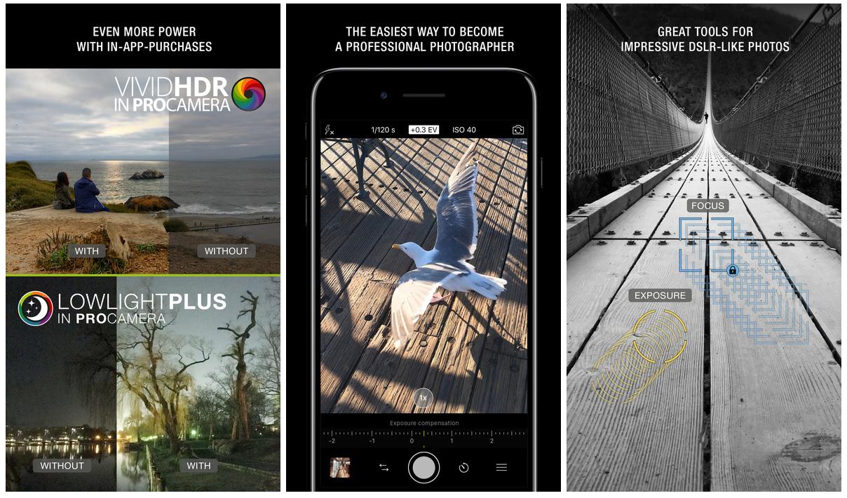 ProCamera iOS app