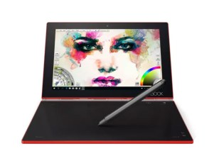 Red and white versions of Lenovo Yoga Book will soon be available