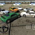 Crazy Stunt Car Destruction Derby iPad game screenshot 5