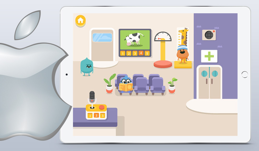 Dumb Ways JR Zany's Hospital iOS game