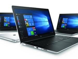 All new HP ProBook 400 G5 series laptop