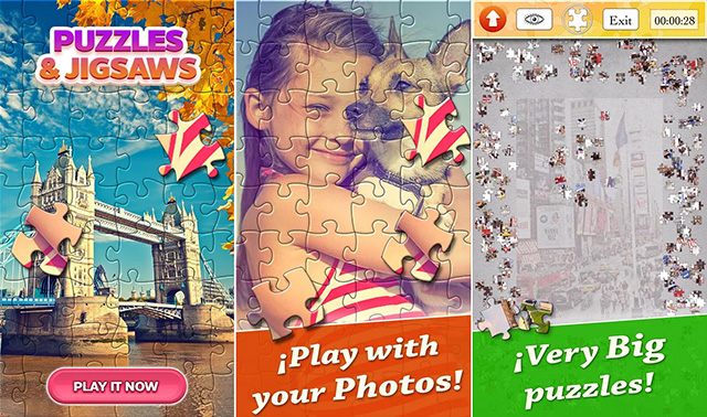 Jigsaw Puzzle HD free app for Android