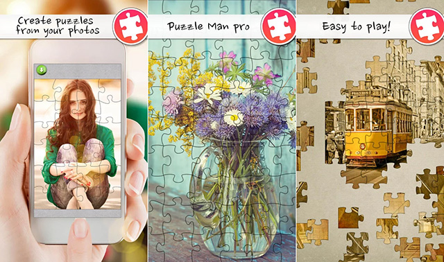 Jigsaw Puzzle Man Pro Android app