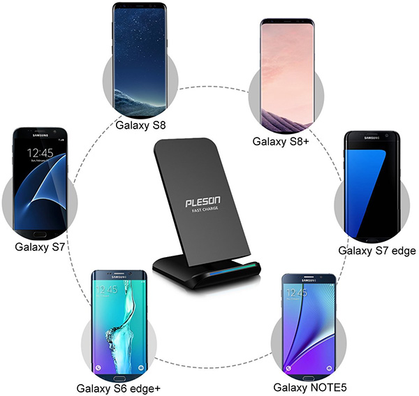 Best Deals On Wireless Charging Pads For Your Samsung Galaxy S8