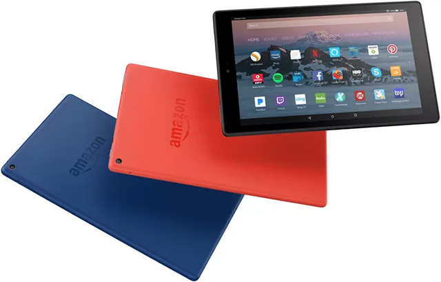 2017 Edition Amazon Fire HD 10 tablet different color options
