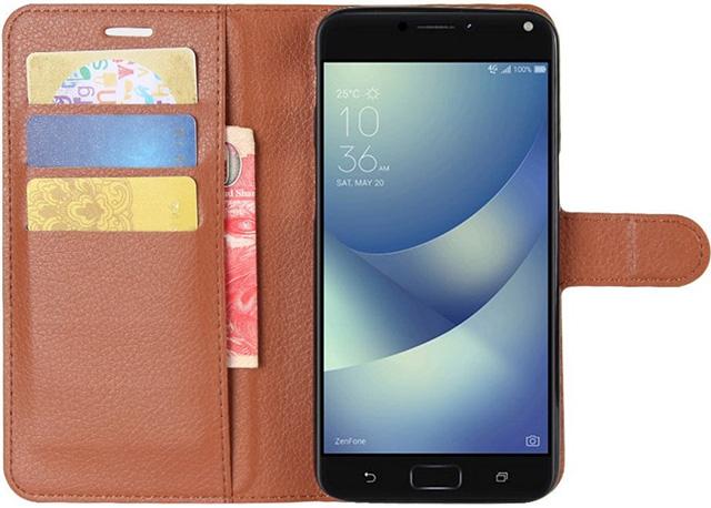 ic6Space Asus ZenFone 4 Max Leather Wallet Flip Case