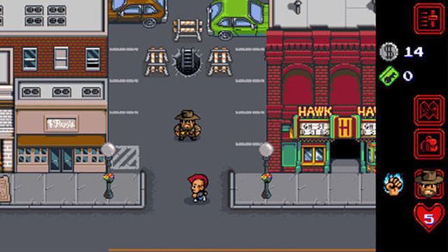 Stranger Things iOS game screenshot