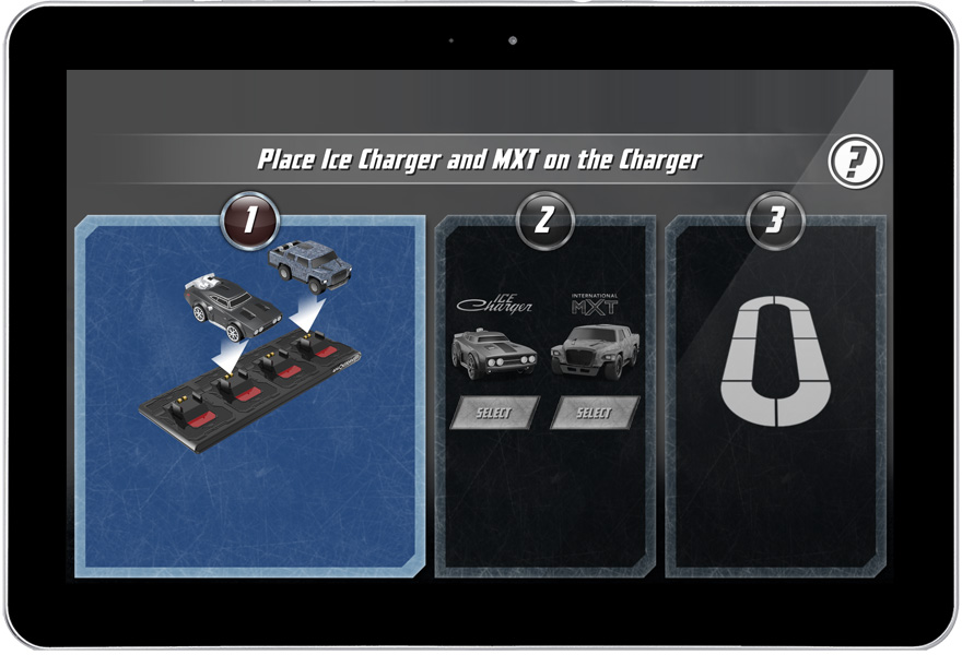 Anki OVERDRIVE Fast and Furious Edition Android tablet screenshot