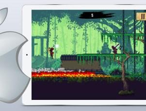 Featured iOS App of the Week Ninja Scroller The Awakening mobile game
