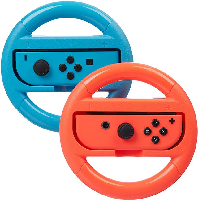 AmazonBasics Steering Wheel for Nintendo Switch