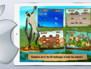 Leo's Journey in Africa iOS game for kids