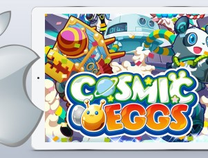 Cosmic Eggs free iOS game