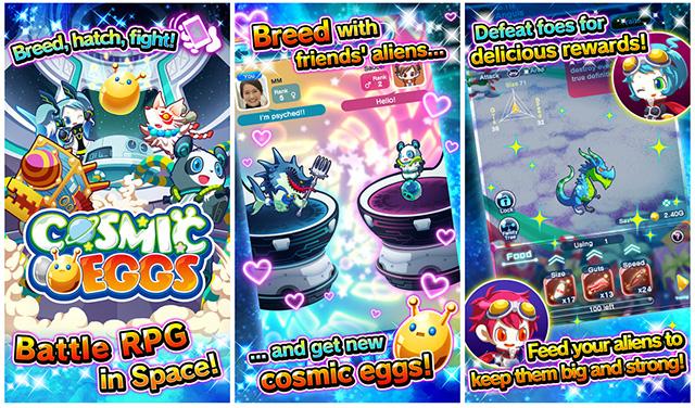 Cosmic Eggs iOS game