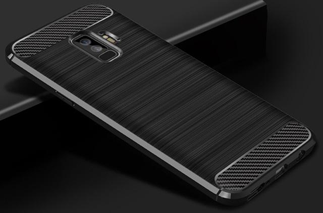 Dretal Carbon Fiber Shock Resistant Galaxy S9 Plus Case