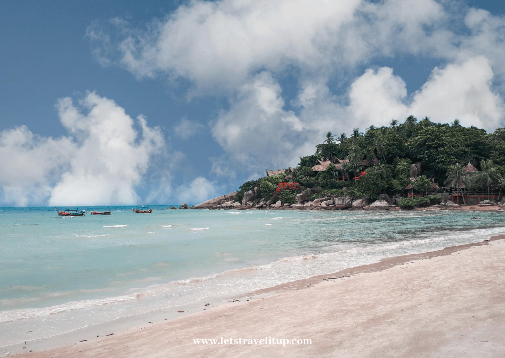 Sairee beach is the main beach on Koh Tao Thailand