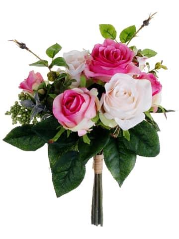 Bukiety ślubne z róż