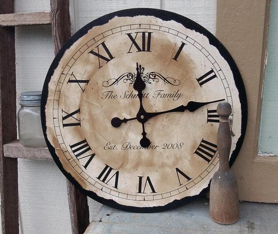 Personalizowany zegar