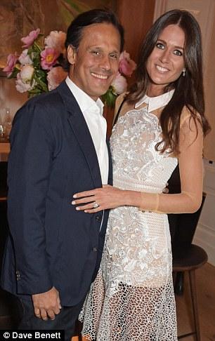 ślub Elizabeth Hurley i Aruna Nayar