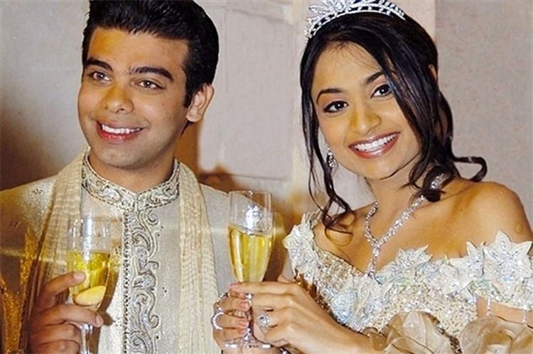 ślub Vanishy Mittal i Amita Bhatia
