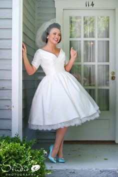 suknia ślubna pin-up