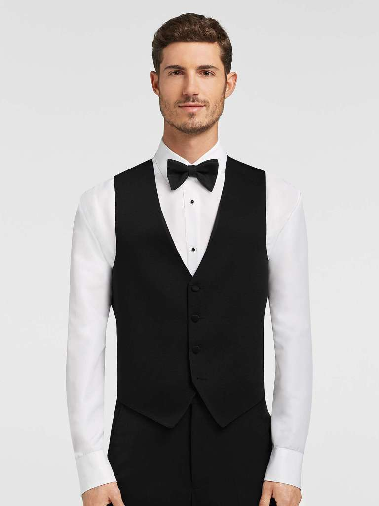 czarny garnitur