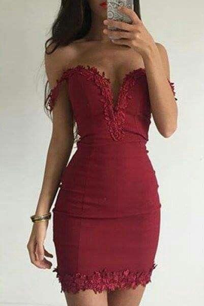 bordowa suknia na wesele