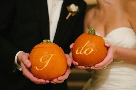 Dynia na jesienny ślub